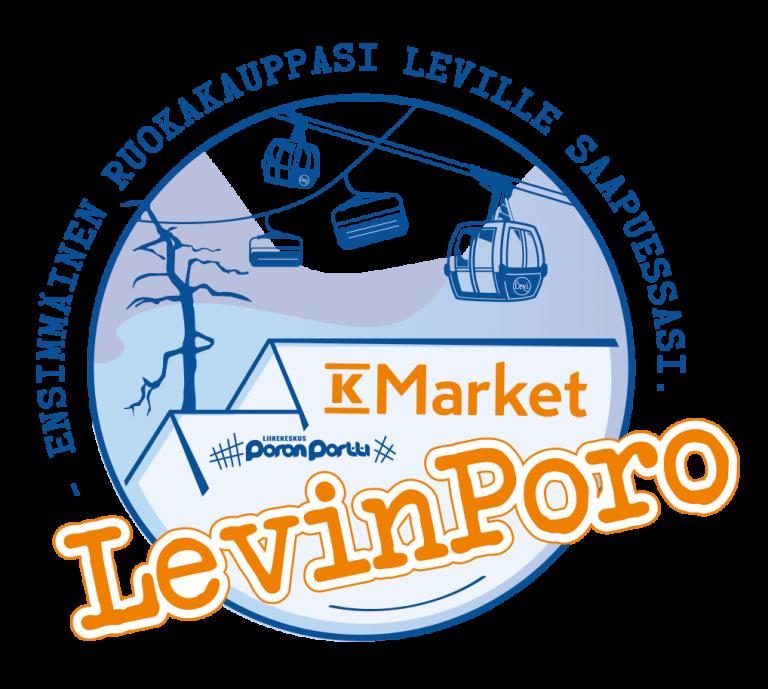 Levin Poro K-Market Levi logo
